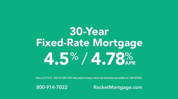Rocket Mortgage YOURgage TV Spot, 'Good News' - Thumbnail 7