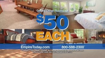 Empire Today $50 Room Sale TV Spot, 'Give Your Entire Home a New Style'