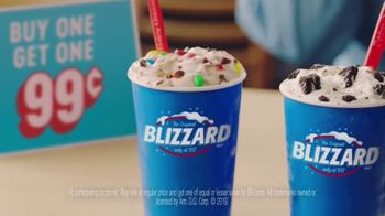 Dairy Queen BOGO 99 Cent Blizzards TV Spot, 'The Bought One and The Got One'