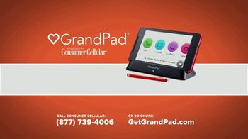 Consumer Cellular GrandPad TV Spot, 'Stay in Touch: First Month Free' - Thumbnail 10