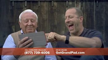 Consumer Cellular GrandPad TV Spot, 'Stay in Touch: First Month Free' - Thumbnail 4