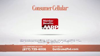 Consumer Cellular GrandPad TV Spot, 'Stay in Touch: First Month Free' - Thumbnail 6