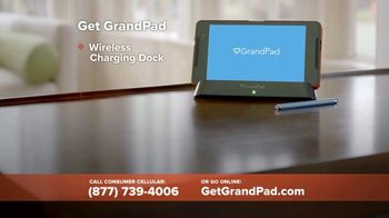 Consumer Cellular GrandPad TV Spot, 'Stay in Touch: First Month Free' - Thumbnail 7