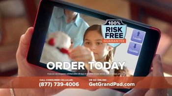 Consumer Cellular GrandPad TV Spot, 'Stay in Touch: First Month Free' - Thumbnail 8