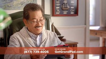 Consumer Cellular GrandPad TV Spot, 'Stay in Touch: First Month Free' - Thumbnail 9
