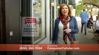 Consumer Cellular TV Spot, 'The Way You Like It: First Month Free: Plans $15+ a Month' - Thumbnail 4