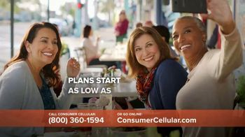 Consumer Cellular TV Spot, 'The Way You Like It: First Month Free: Plans $15+ a Month'