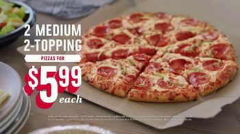 Domino's App TV Spot, 'Points for Pies: Medium Toppings' - Thumbnail 10