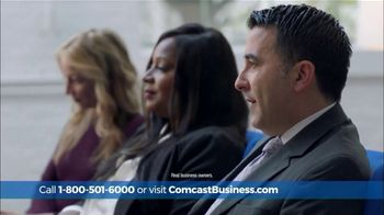 Comcast Business Switch & Save Days TV Spot, 'Excited Business Owners: $200 Prepaid Card' - 28 commercial airings