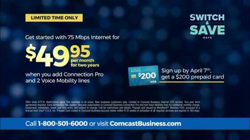 Comcast Business Switch & Save Days TV Spot, 'Excited Business Owners: $200 Prepaid Card' - Thumbnail 5