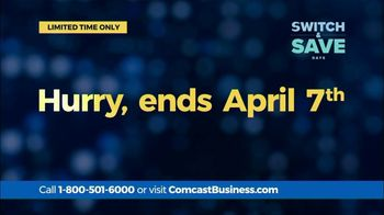 Comcast Business Switch & Save Days TV Spot, 'Excited Business Owners: $200 Prepaid Card' - Thumbnail 7