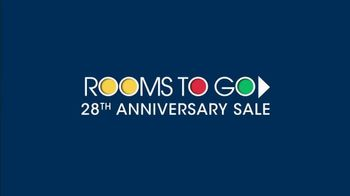 Rooms to Go 28th Anniversary Sale TV Spot, 'Contemporary Living Room Set' - Thumbnail 1