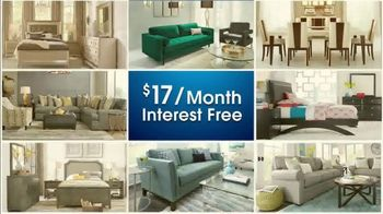 Rooms to Go 28th Anniversary Sale TV Spot, 'Contemporary Living Room Set' - Thumbnail 3
