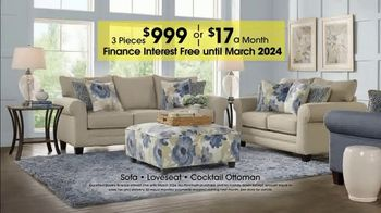 Rooms to Go 28th Anniversary Sale TV Spot, 'Contemporary Living Room Set' - Thumbnail 5
