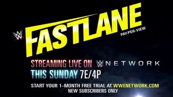 WWE Network TV Spot, '2019 Fastlane' - Thumbnail 10