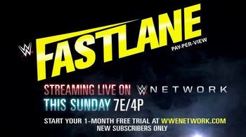 WWE Network TV Spot, '2019 Fastlane' - Thumbnail 9