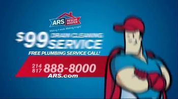 ARS Rescue Rooter Drain Cleaning Service TV Spot, 'Clogged Toilet' - Thumbnail 9