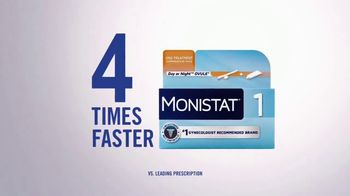 Monistat 1 TV Spot, 'Get Relief 4 Times Faster' - Thumbnail 3