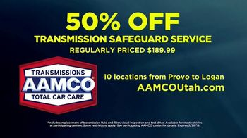AAMCO Transmissions TV Spot, 'Transmission Repair: 50% Off' - Thumbnail 8