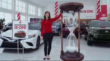Toyota Toyotathon TV Spot, 'Hourglass' [T2] - Thumbnail 1