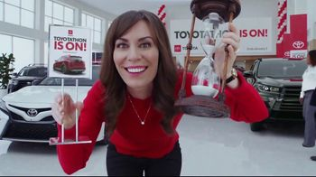 Toyota Toyotathon TV Spot, 'Hourglass' [T2] - 440 commercial airings