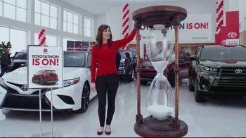 Toyota Toyotathon TV Spot, 'Hourglass' [T2] - Thumbnail 5