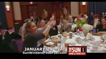 Mohegan Sun TV Spot, '2019 Sun Wine and Food Fest' - Thumbnail 3