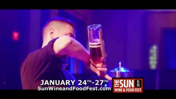 Mohegan Sun TV Spot, '2019 Sun Wine and Food Fest' - Thumbnail 4