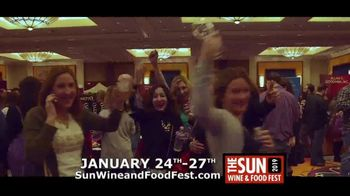 Mohegan Sun TV Spot, '2019 Sun Wine and Food Fest' - Thumbnail 7