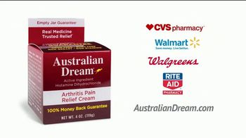 Australian Dream Arthritis Pain Relief Cream TV Spot, 'Empty Jar Guarantee' - Thumbnail 6