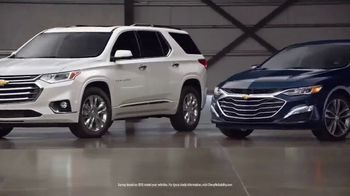 Chevrolet TV Spot, 'When It Comes to Reliability, Chevy's Got Big News' [T1] - Thumbnail 9