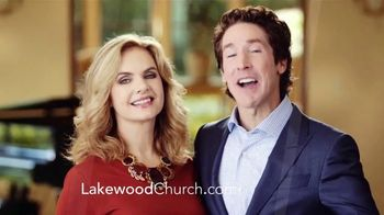 Lakewood Church TV Spot, 'Visit Lakewood' Featuring Joel & Victoria Osteen