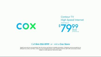 Cox Communications Contour TV + High Speed Internet TV Spot, 'Whatever the Weather' - Thumbnail 10