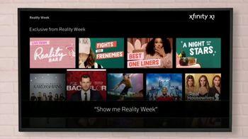 XFINITY TV Spot, 'Reality Week' - Thumbnail 8