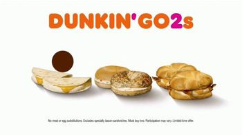 Dunkin' Go2s TV Spot, 'No Better Two' - Thumbnail 10