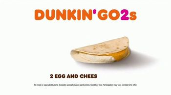Dunkin' Go2s TV Spot, 'No Better Two' - Thumbnail 8