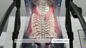 Teeter Hang Ups TV Spot, 'Natural Back Pain Relief' - Thumbnail 6