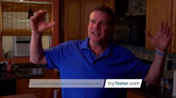 Teeter Hang Ups TV Spot, 'Natural Back Pain Relief'