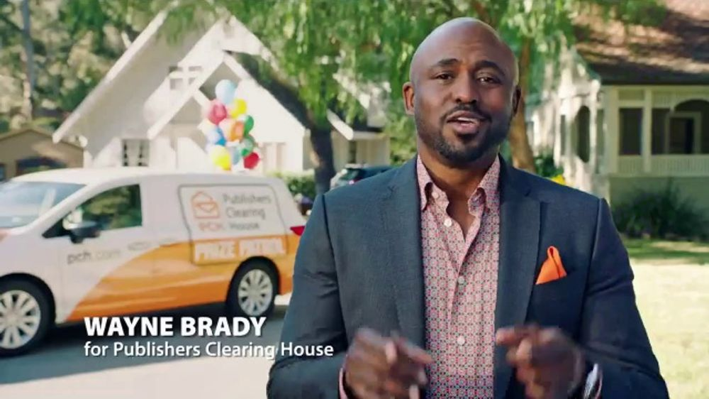 Publishers Clearing House Forever Prize TV Commercial, 'Win Big Money'  Featuring Wayne Brady - Video