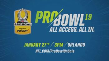 NFL TV Spot, '2019 Pro Bowl: Tickets Available' - Thumbnail 9