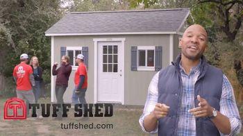 Tuff Shed TV Spot, 'Backyard Makeover: Man Cave' - Thumbnail 9