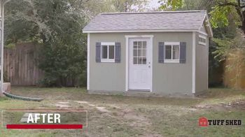 Tuff Shed TV Spot, 'Backyard Makeover: Man Cave' - Thumbnail 8