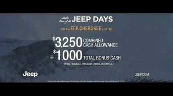 Jeep Days TV Spot, 'Different Plans' Song by Carrollton [T2] - Thumbnail 9
