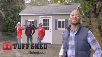 Tuff Shed TV Spot, 'Backyard Makeover: She Shed' - Thumbnail 10