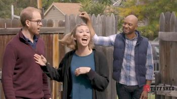 Tuff Shed TV Spot, 'Backyard Makeover: She Shed'