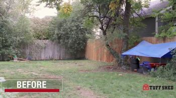 Tuff Shed TV Spot, 'Backyard Makeover: She Shed' - Thumbnail 8