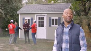 Tuff Shed TV Spot, 'Backyard Makeover: She Shed' - Thumbnail 9