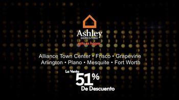 Ashley HomeStore La Venta 51 Por Ciento de Descuento TV Spot, 'Precio de lista' [Spanish] - Thumbnail 5