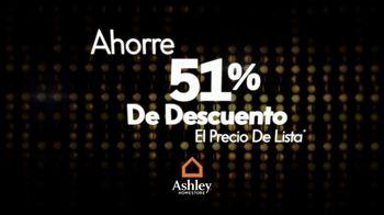 Ashley HomeStore La Venta 51 Por Ciento de Descuento TV Spot, 'Precio de lista' [Spanish] - Thumbnail 1