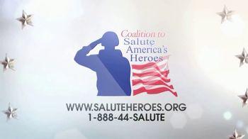 Coalition to Salute America's Heroes TV Spot, 'Shilo Harris' - Thumbnail 8